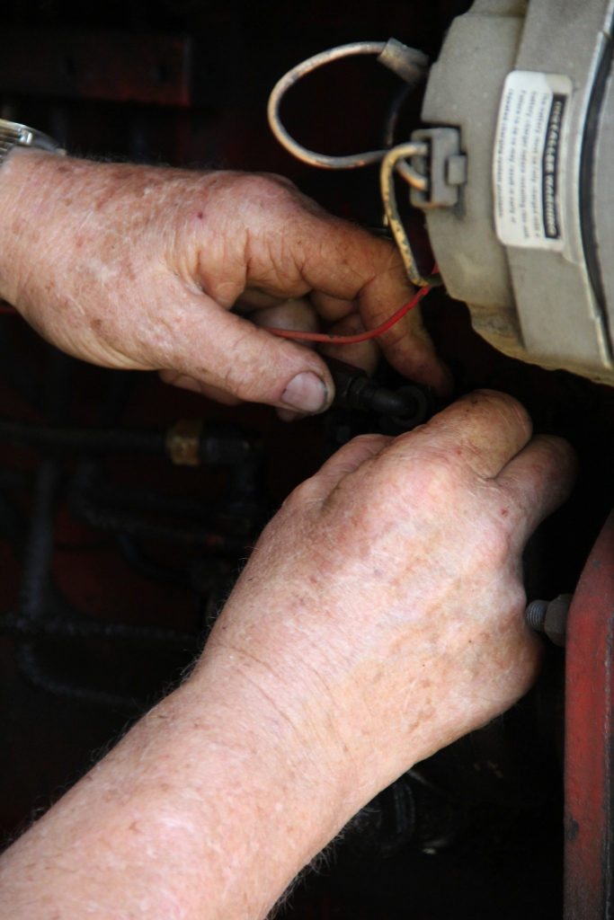 Hands of a Master Mechanic