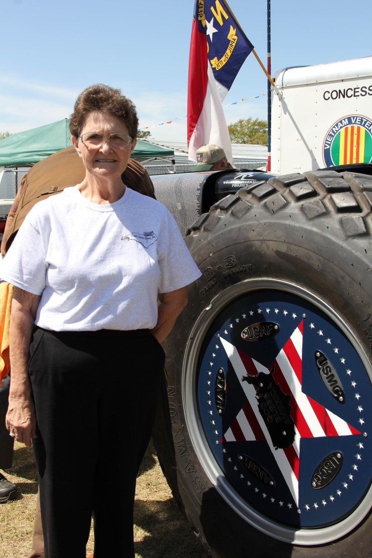 Mrs. Linda Tyner Robbins found her Uncle John Hubert Tyner, Jr. on the Freedom Tractor.