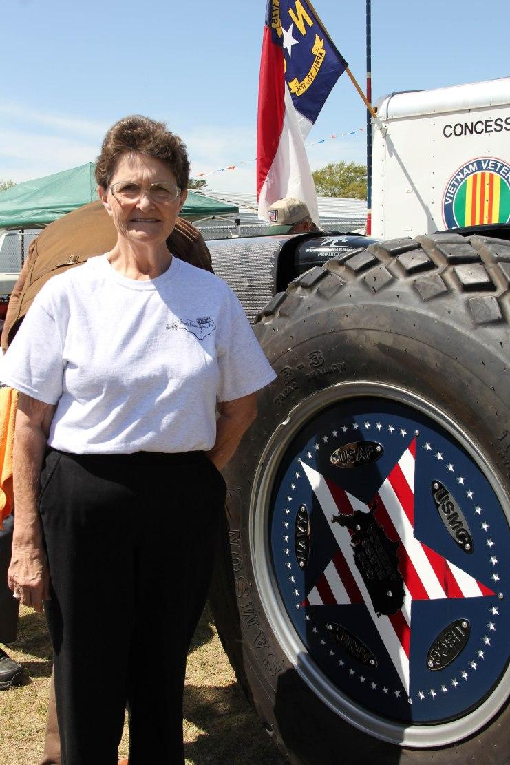 Mrs. Linda Tyner Robbins found her Uncle John Hubert Tyner, Jr. on the Freedom Tractor.
